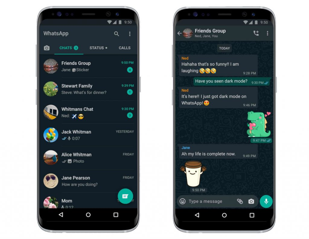 How to Enable Dark Mode in Whatsapp Android